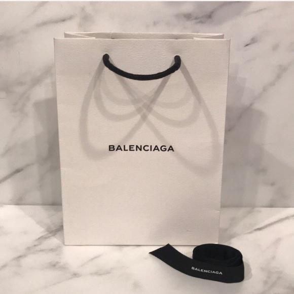 Balenciaga Accessories - Authentic Balenciaga Small Gift Bag With Ribbon & Balenciaga Accessories | Authentic Small Gift Bag With Ribbon | Poshmark